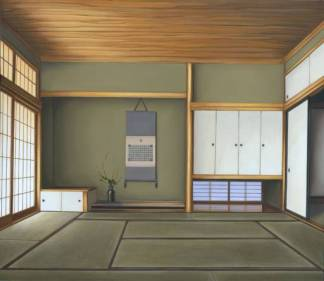 I am in that room, I can smell the tatami