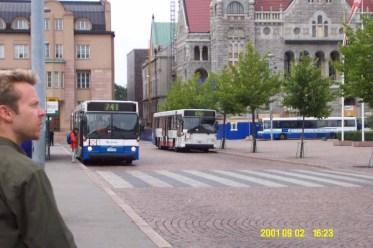 Which bus to catch? Hmm.