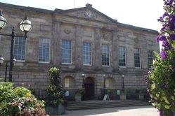 The Shire Hall - a constant feature of my childhood trips to town