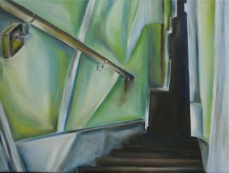 Can my painting of the stairs be turned into a line of code?