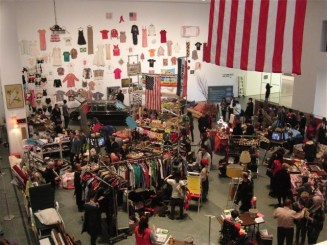 Audience participation: Martha Rosler, Meta-monumental Garage Sale 2012