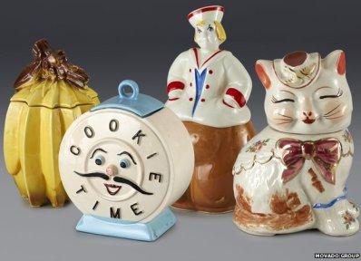 Andy Warhol's biscuit jars