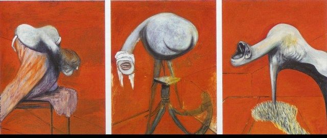 Francis Bacon: Three Studies for Figures at the Base of a Crucifixion