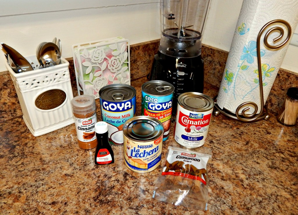 Coquito Ingredients