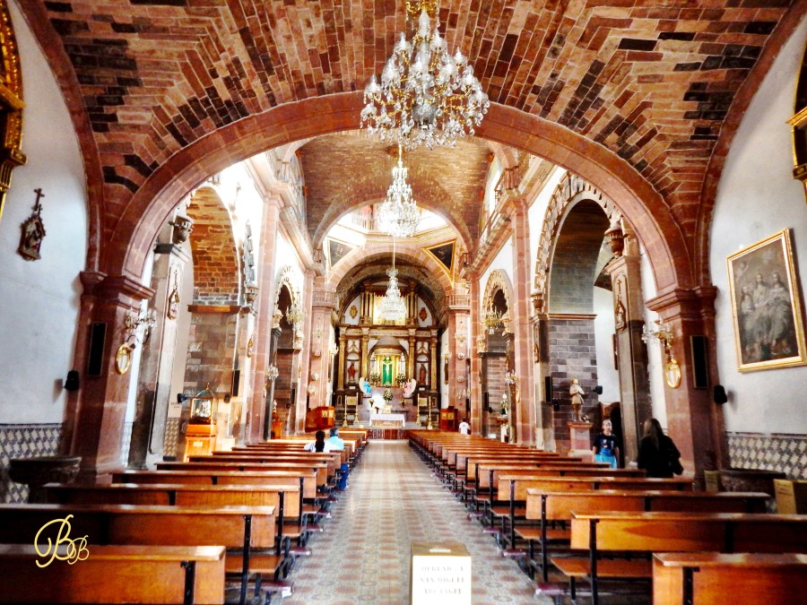 San Miguel de Allende church inside