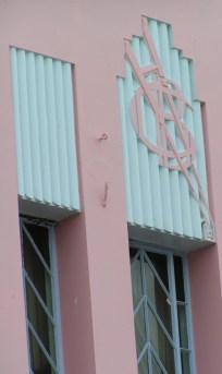 Pastel pink and baby blue in Napier