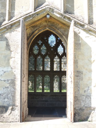 Lingering Look through a door and a window!