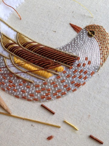 Kit development Becky Hogg Embroidery