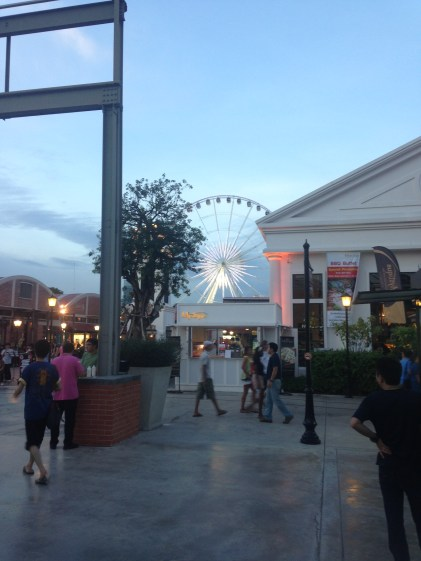 The Asiatique experience.