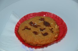 For the bacon lovers: peanut butter bacon and salt cookie!