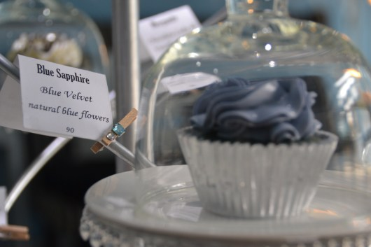 All of the cupcakes are named for precious stones.