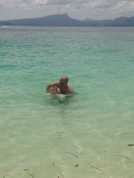 daddy swim time!