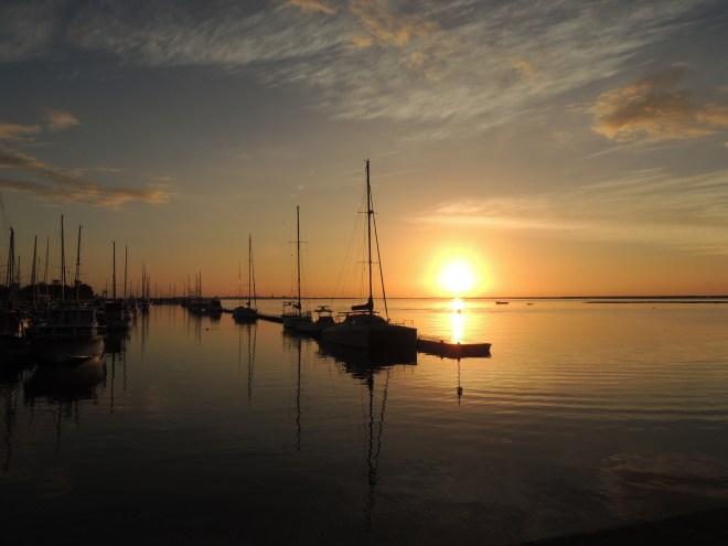 Olhao's marina