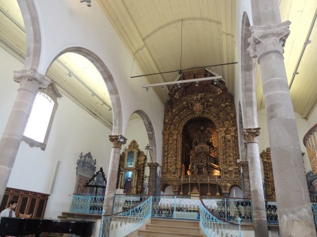 Inside Church of Misericórdia