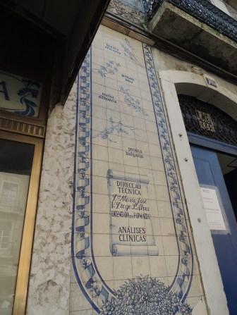 Tile shop front