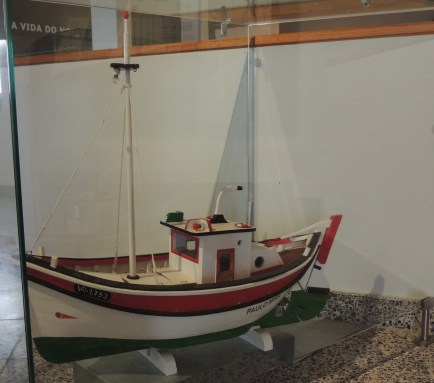 Was used to transport the catch from the fishing boats to the factories and port in Vila Real de Santo António