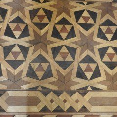 Another impressive parquet flooring but not the 3D one