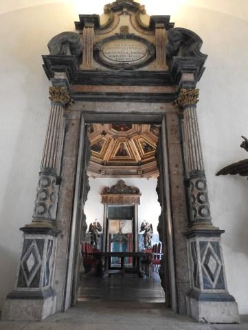 Impressive doorway!