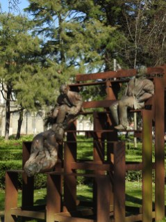 back in Jardim do Carregal