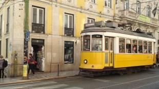 Trams arriving