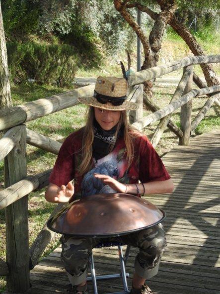 Musical interlude in Spain
