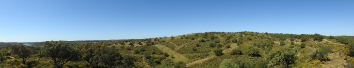 180degree view  - looking south to Baxio Guardiana