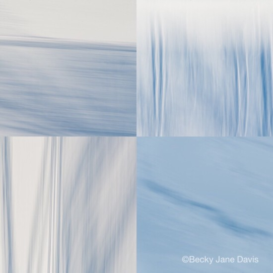 Icy Blue, from the series, Semblance