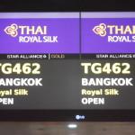 Thai Airways check-in