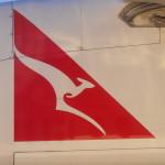 Quantas flight Launceston to Melbourne