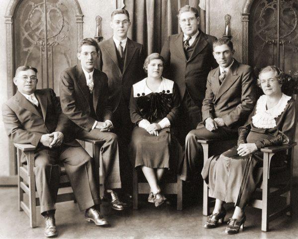 Franklin George Rohr Family