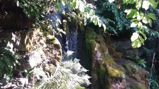 The waterfall at Hampton Court