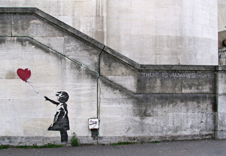 Banksy - There's Always Hope