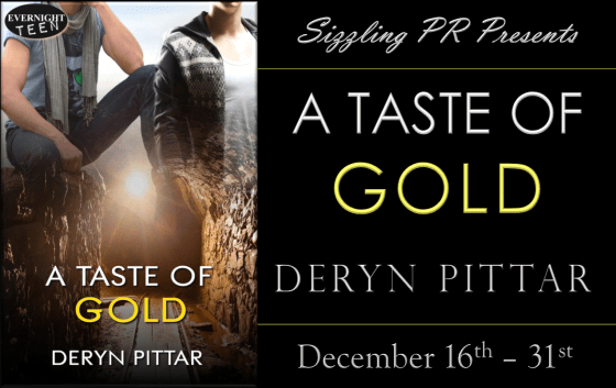A Taste of Gold - Deryn Pittar - Banner