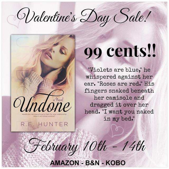Undone Sale Graphic