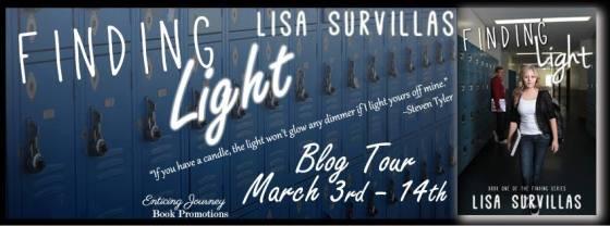 Finding Light Blog Tour Banner