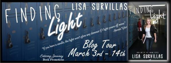 Finding Light Blog Tour Banner