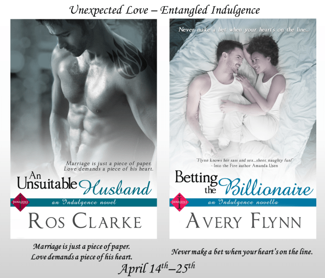 An Unsuitable Husband - Betting the Billionaire Banner