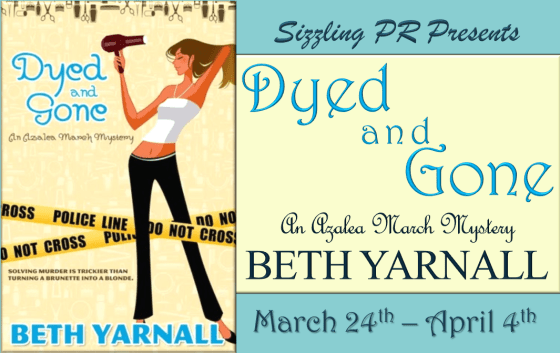 Dyed and Gone - Beth Yarnall  Banner