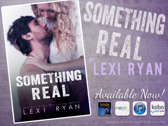 Something Real Available Now Banner