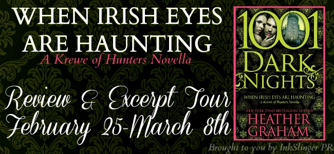When Irish Eyes Are Haunting Tour banner