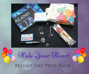 Hide Your Heart prize pack