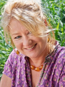 Portrait of writer Nicola Cleasby