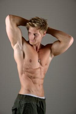 Sportsman Abdominal Muscle