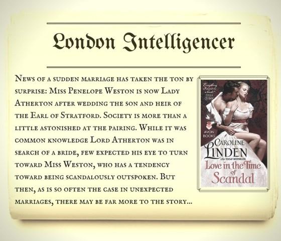 Series Scandal Sheet_London Intelligencer LITTOS