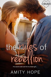 The Rules of Rebellion by Amity Hope cover