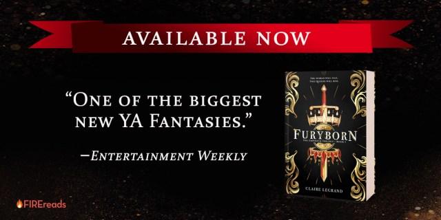 Furyborn tour banner