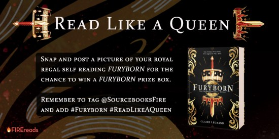 Read Like a Queen graphic