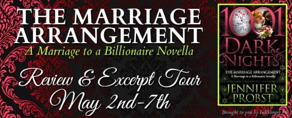 The Marriage Arrangement Tour banner