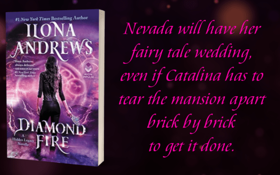 """Nevada will have her fairy tale wedding, even if Catalina has to tear the mansion apart brick by brick to get it done."""