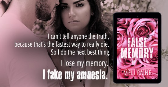 """""""I can't tell anyone the truth, because that's the fastest way to really die. So I do the next best thing. I lose my memory. I fake my amnesia."""""""